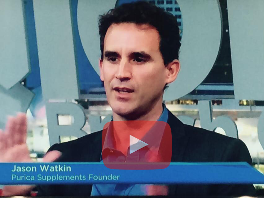 Jason Watkin on the Power of Mushrooms on Global TV